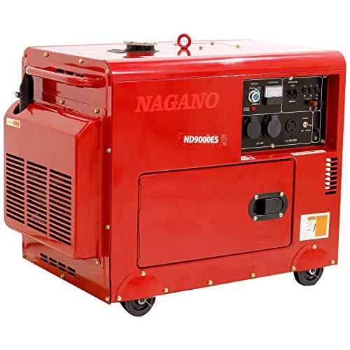 Gerador de Energia a Diesel Silenciado Monofasico 8kva 110-220v Partida Elétrica 60hz...