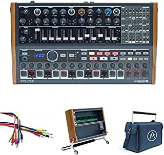 Arturia MiniBrute2S and RackBrute6U with RackBruteBag and Noodles