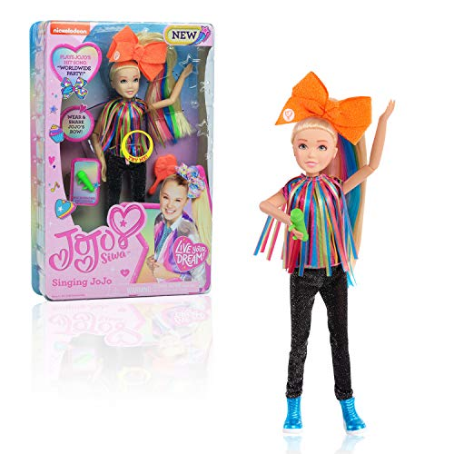 JoJo Siwa JoJo Singing Doll, Worldwide Party, 10-Inch Doll