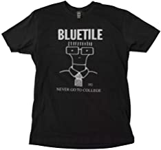BLUETILE Never GO to College T-Shirt