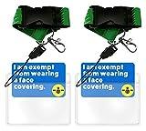 aocar cordino girasole, cordino da collo con portacarte per badge, laccetto per mobile cellulari, chiavi, id carta (pacco da - 2)