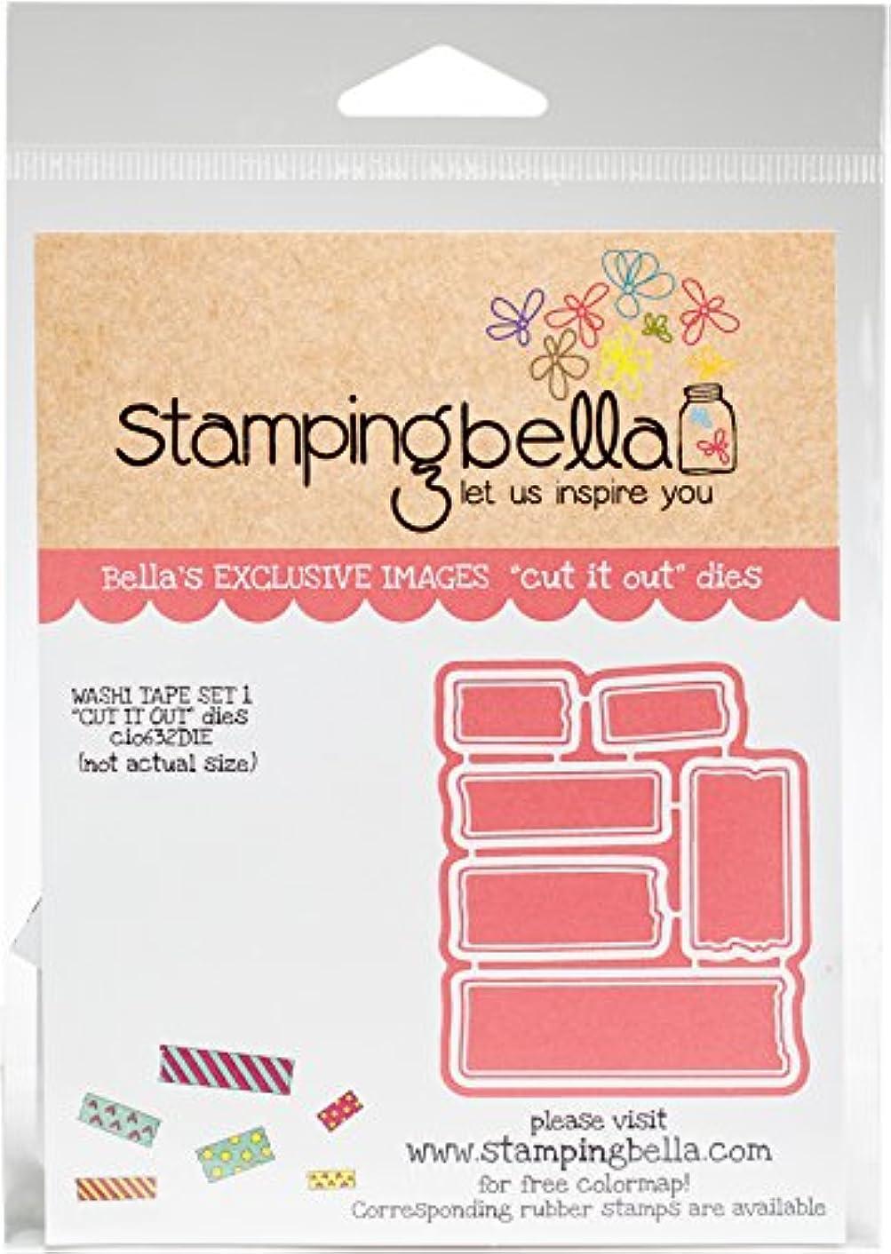 Stamping Bella Washi Tape Set 1 Cut It Out Dies