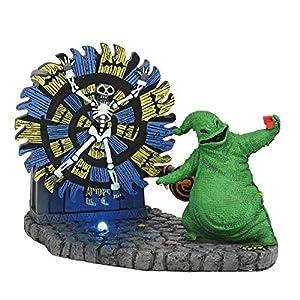 Estatua Oogie Boogie Gives a Spin 11 cm. Pesadilla antes de Navidad. Enesco 2
