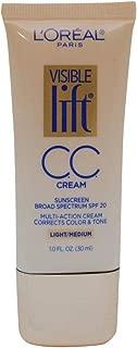 L'Oreal Paris Visible Lift CC Cream, Light/Medium 1 oz