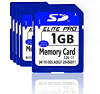 Estone 5点x1gbセキュリティデジタルSDカードと互換性、高速度、カメラ、ビデオカメラ、コンピュータ、車リーダーと他のSD互換デバイス