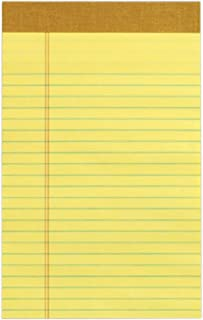 Tops Perforated Junior Pad, Canary Yellow, 24 Count