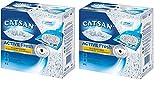 Catsan Active Fresh Litière agglomérante pour 8L, Lot de 2(2x 8L)