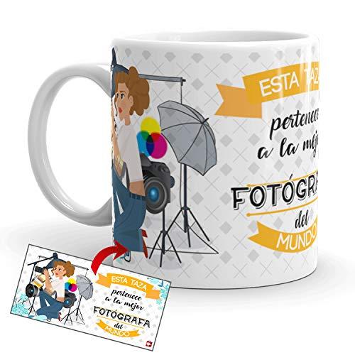 Kembilove Taza de Café de la Mejor Fotógrafa del Mundo – Taza...