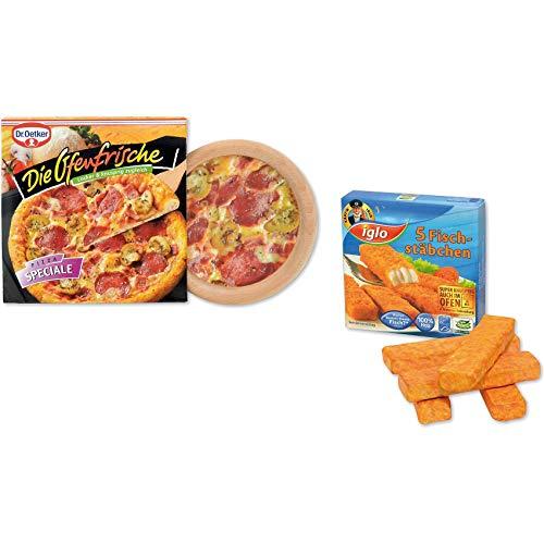 Tanner 0610.0 Pizza Appena sfornata Cameo & Bastoncini di Pesce Findus Multicolore