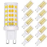 Albrillo 10er Pack 4.5W G9 LED Lampe 500 Lumen