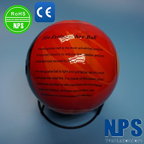 TENYU TECH Automatic Self-Activation Fire Extinguisher Ball Fire Suppression Device (1pc)