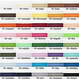 Jajasio Baumwoll Schrägband 25mm breit in 40 Farben