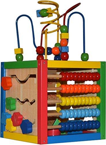 Play22 Activity Cube with Bead Maze