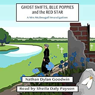 Ghost Swifts, Blue Poppies and the Red Star  audiobook cover art