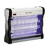 Seekavan Electrique,pièges, Lampe Unités de lumière ultraviolette (UV) Anti Insectes, Tue...