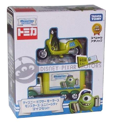 Tomica Disney Pixar Motors Monsters University Mike set (japan import)