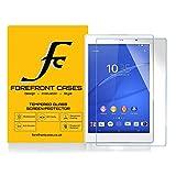 Forefront Cases [HD VISIBILITÀ] Vetro Temperato Protezione dello Schermo Pellicola Protettrice Cover Copertura per Sony Xperia Z3 8-inch Tablet Compact SGP621 [ULTRA SOTTILE solo 0.3mm]