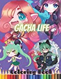 Gacha Life Coloring Book: A Lovely Christmas Coloring Book About The Popular Game wonderful Coloring Book For Kids And Adults Of Gacha Life Coloring ... Of Lovely, Beautiful And Unique Illustrations