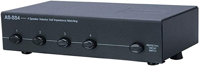 Metra Home Theater 4-Zone Speaker Selector (AS-SS4)