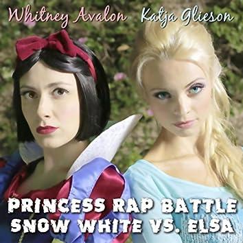 Princess Rap Battle: Snow White vs. Elsa (feat. Katja Glieson)