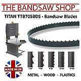 Titan Ttb705bds Lames de scie à ruban