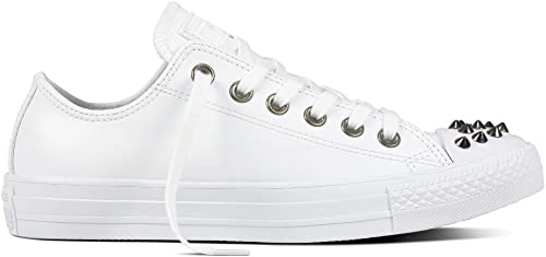 Converse Chuck Taylor CTAS Ox Synthetic, Chaussures de Fitness Femme