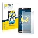 BROTECT Schutzfolie kompatibel mit Motorola Razr i (2 Stück) klare Bildschirmschutz-Folie