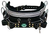 Buckingham 2019M-24 Light Weight Full Float Body Belt,Black