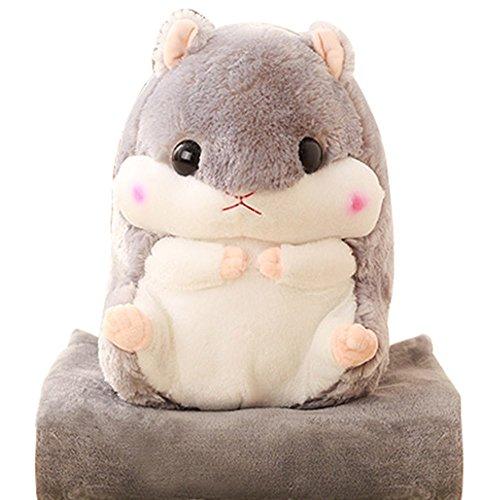 YunNasi Peluche Hamster Couverture Bébé Jouet 50 cm Tapis 100*170cm
