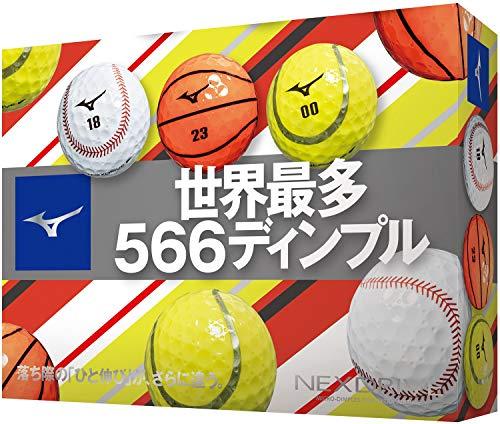MIZUNO(ミズノ) ゴルフボール ネクスドライブ スポーツボール 1ダース(12個入り) 5NJBM32070