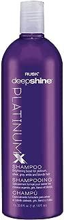RUSK Deepshine PlatinumX Shampoo, 33.8 oz.