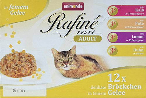 Animonda Rafine Soupe Multipack 2, Adult, 1er Pack (1 x 1.2 kg)