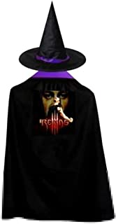 VOUN Ro-Man-Reigns Halloween Party Costumes Wizard Hat Cape Custom Cloak for Girls Boys and Adult