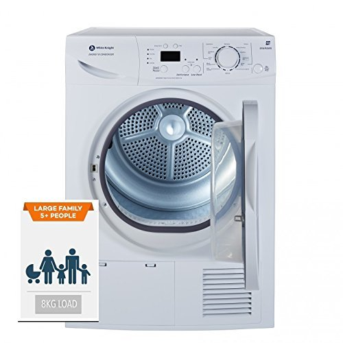 White Knight Condenser tumble dryer 8kg B96M8WR