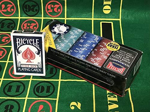 Jetons de Poker Bicycle Tournament Quality (8 g)