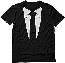 Printed Suit & Tie Tuxedo T-Shirt Classic Tuxedo T-Shirt Party Costume Shirt