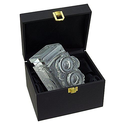 Fotodiox Cristal TLR cámara Rolleiflex contraindicación Modelo con Zeiss Planar 80 mm Objetivo