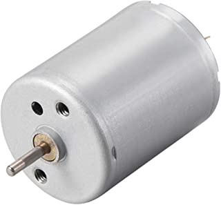 uxcell DC Motor 12V 9000RPM 0.05A Electric Motor Round Shaft for RC Boat Toys Model DIY Hobby