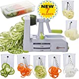 Best Vegetable Slicers - Brieftons 7-Blade Spiralizer: Strongest-and-Heaviest Duty Vegetable Spiral Slicer Review