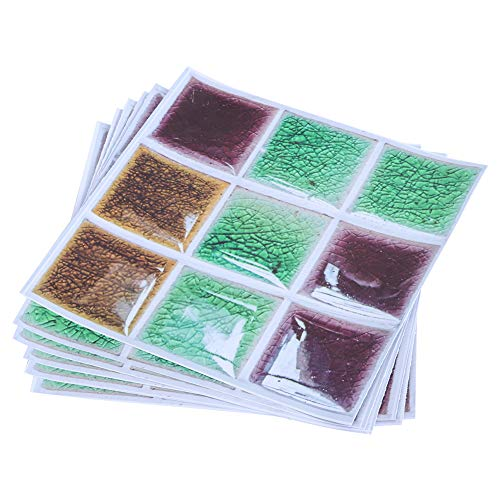 Pegatina de azulejo, con caja de decoración de baño de 20x20 cm de PVC para la decoración del baño de la cocina
