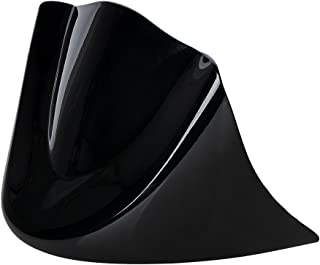 AMOPA Front Spoiler Chin Fairing Cover Mounting Bracket for 2006-2017 Harley Dyna (Glossy Black)