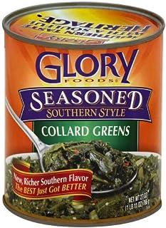 Glory Foods Seasoned Collard Greens, 27-Ounce (Pack of 5)