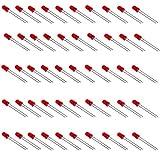 50 Diodos LED Rojo de 5x9 mm Lente Roja
