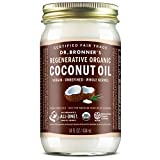 Dr. Bronner's - Organic Virgin Coconut Oil (Whole Kernel, 14 ounce) -...