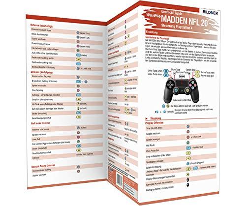 Madden NFL 20 - Die komplette Spielsteuerung groß auf einen Blick!:: Für PS4