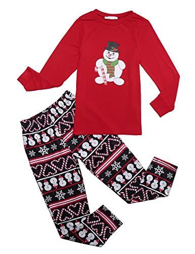 Weihnachten Kinder Schlafanzug Familie Pyjamas Langarm Nachtwäsche Set Weihnachts Familien Damen Herren Mädchen Jungen Baby Set Herbst Winter Drucken Zweiteiliger Bekleidungsset 120