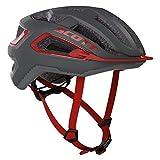 Scott 275195 - Casco de Bicicleta Unisex para Adulto, Gris Oscuro y Gris