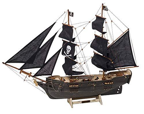 Modellschiff Piratenschiff Piraten Holz Schiffsmodell Schiff Pirat kein Bausatz