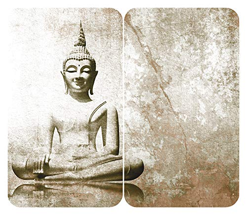 WENKO Herdabdeckplatte Universal Buddha