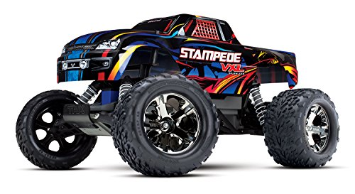 Traxxas Stampede Brushless 1:10 RC Modellauto Elektro Monstertruck Heckantrieb (2WD) RTR 2,4 GHz
